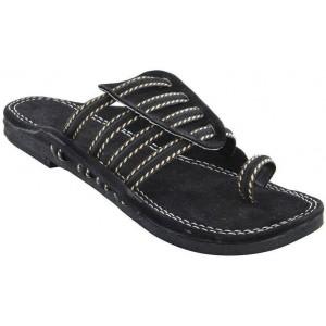 skylyf Men black Sandals