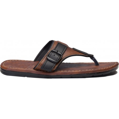 Butchi Men Tan Sandals
