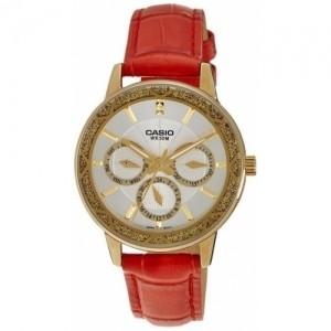 Casio White Enticer Analog Dial Women's Watch - LTP-2087GL-4AVDF (A910)