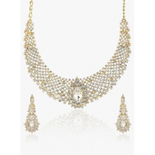 Sukkhi Incredible Gold Plated Ad Necklace Set