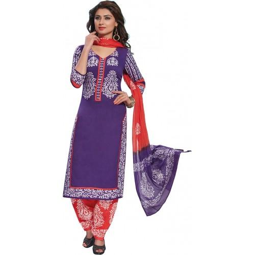 f910f5d792 Buy Giftsnfriends Cotton Printed Salwar Suit Dupatta Material online ...