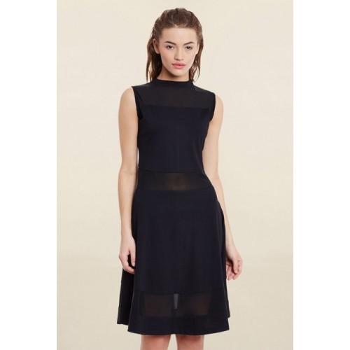 Miss Chase Black Slim Fit Dress