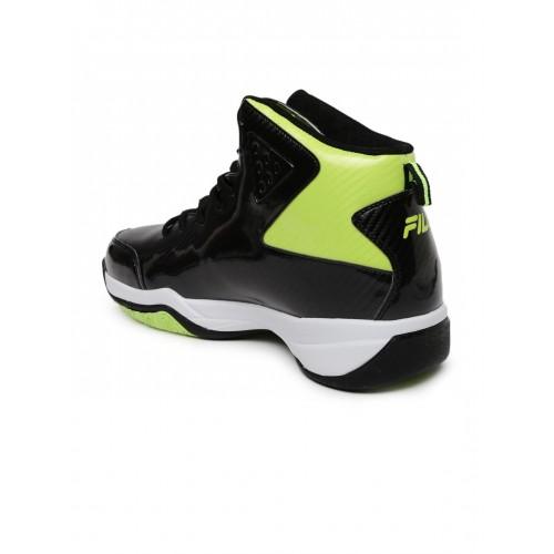 622f2eb1 Buy FILA Men Black BALL HAND Basketball Shoes online | Looksgud.in