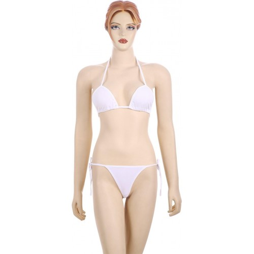 Nimra Fashion Triangle Cup Bikini Solid Women's Swimsuit