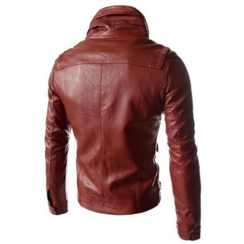 Syedna Leather Leather Jacket
