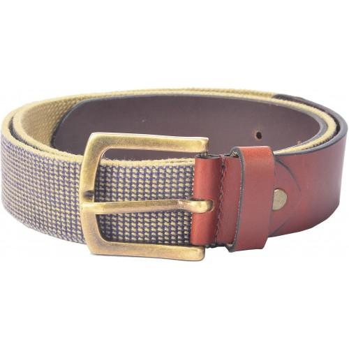 c0e2a8a77 Buy Hidelink Men Formal Brown Genuine Leather Belt online
