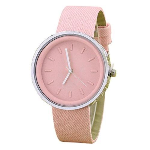 XINEW Xinew Matt Finish Analog Pink Dial Watch For Women - XIN-309