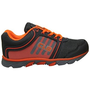 Columbus JR1006 Boys & Girls Grey & Orange Lace Up Sports Shoes