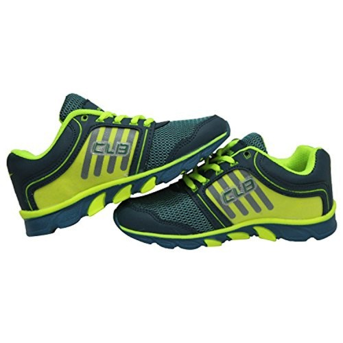 Columbus JR1006 Boys & Girls Green & Green Lace Up Sports Shoes