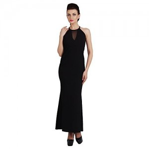 G & M Collections Women's Maxi Black Dress