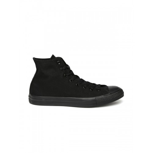 Converse Unisex Black Canvas Sneakers