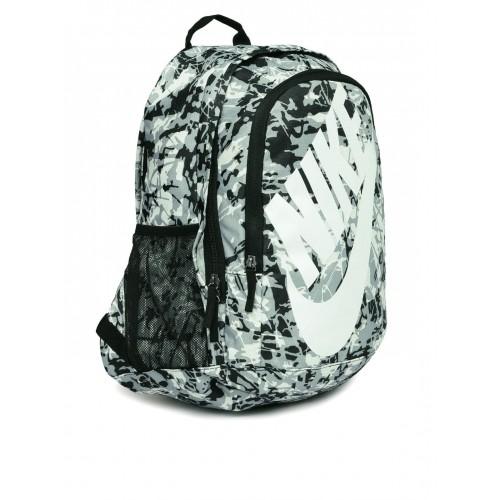 Buy Nike Unisex Black   White Hayward Futura 2.0 Printed Backpack ... 85db24d95c139