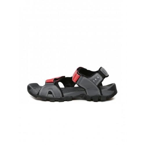 fila sandals mens red