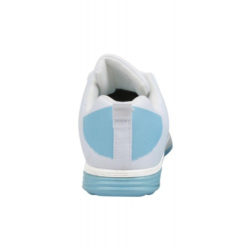 Buy Vostro Light Blue Synthetic Lace Up