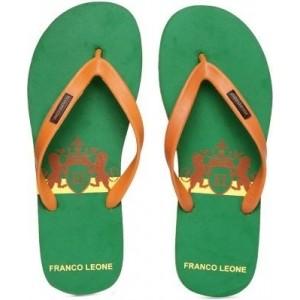 Franco Leone Green Flip Flops
