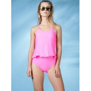 Mast & Harbour Solid Women's Swimwear