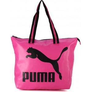 Puma Pink & Black PU Tote Bag
