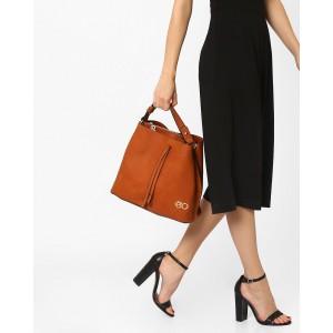 E2O Faux-Leather Tote Bag