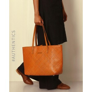 Indie Picks Handcrafted Natural Fibre Tote Bag