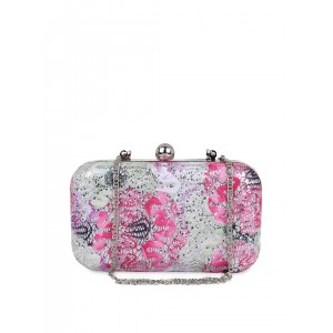 Berrypeckers Multicoloured Shimmery Clutch