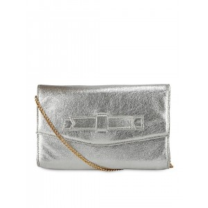 Berrypeckers Silver-Toned Clutch