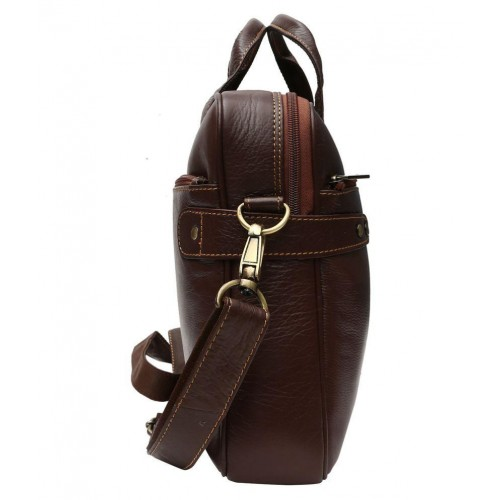 Buy Hammonds Flycatcher Latest Brown Leather Office Bag online ... 761477f97d0c0