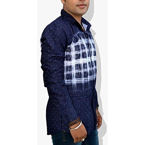Nation Polo Club Nation Polo Club Men's Slim Fit Designer Printed Shirt (NPC1126)