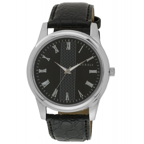 Laurels Original Imperial Black Analog Watch - Lo-Imp-102