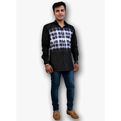 Nation Polo Club Nation Polo Club Men's Slim Fit Designer Printed Shirt (NPC1124)
