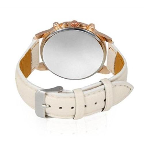 Geneva Analog Silver Dial Women's Watch - GP-197