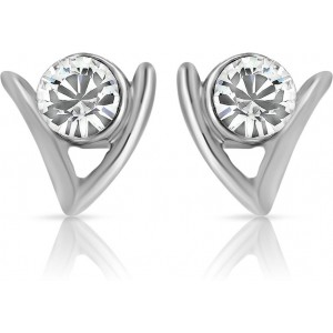 Mahi Ageless Alloy Stud Earring