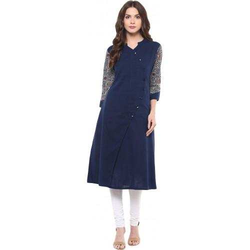 8d9637febb Buy Indian Virasat Casual Printed Women's Kurti online   Looksgud.in