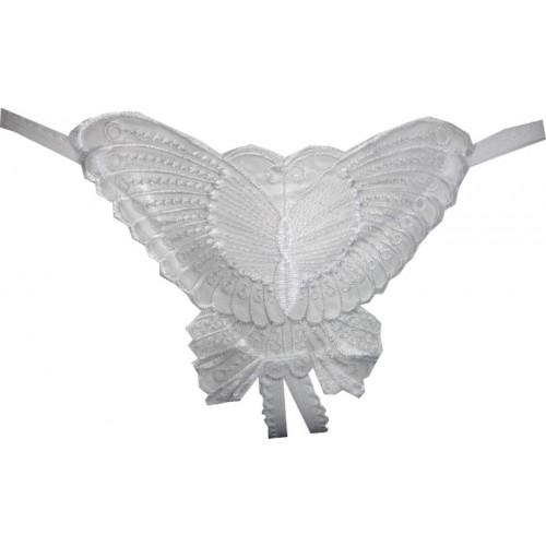 Fenleisi Women's G-string White Panty