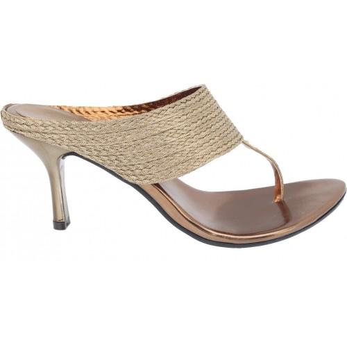 5bb40bac7 Buy Catwalk Women BRONZE Heels online