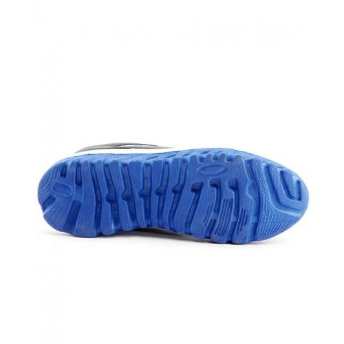 Elligator Mens Blue  Black Lace-Up Running Shoes