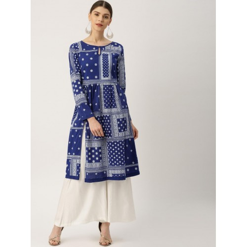 Buy All About You from Deepika Padukone Women Blue & White ...