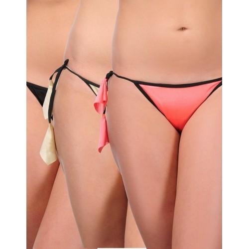 Urbaano Women's Bikini Multicolor Panty