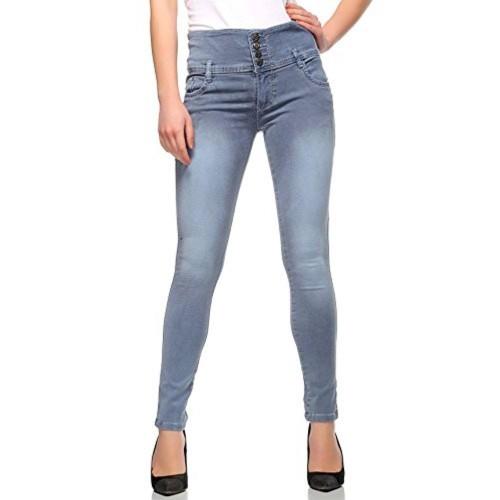 69f0bb7fbf1 Buy Fasnoya Mid Waist 4-Buttons Skinny Fit Jeans for Women online ...