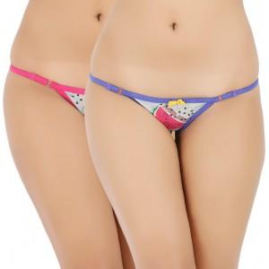 Vaishna Women\'s Bikini Pink, Purple Panty
