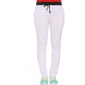 Vimal Solid Women's White Track Pants