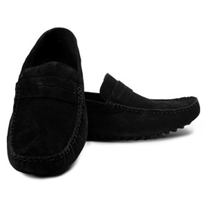 Bacca Bucci Stylish Black Slip On Shoes