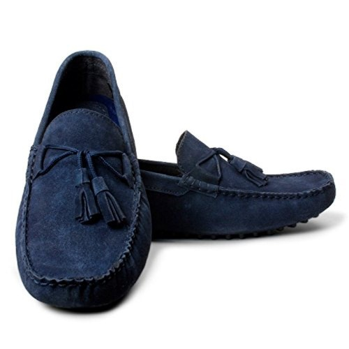 c9569c2c750 Buy Bacca Bucci Blue Suede Leather Loafers online