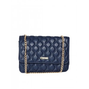 ToniQ Navy Quilted Sling Bag