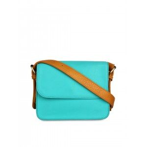 Berrypeckers Turquoise Blue Sling Bag