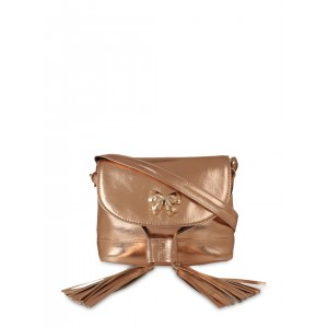 Berrypeckers Gold-Toned Sling Bag