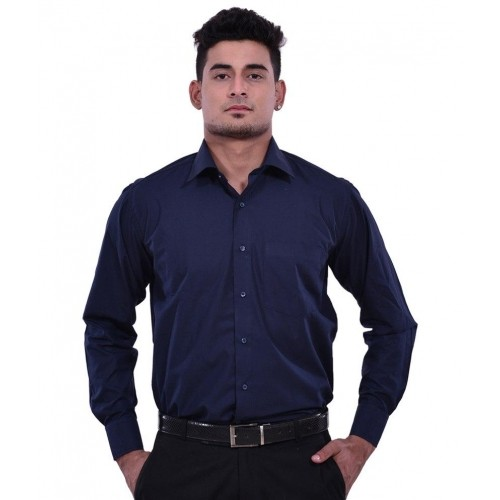 3ea348d444 Navy blue semi formal shirt 3997013 - girlietalk.info