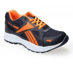 Tomcat Mens Blue And Orange Lace-up Running Shoes