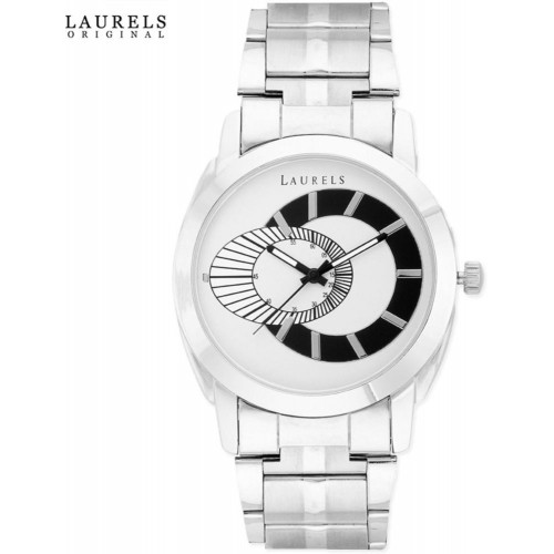 Laurels Polo White Dial Analog Watch (Lo-Polo-701)