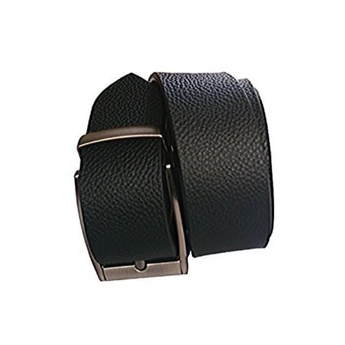 Kesari Kesari 100% Genuine Leather Black Belt For Men (2 Year Warranty)