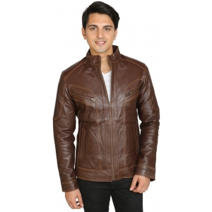 C Comfort C Comfort Men's Leather Jacket